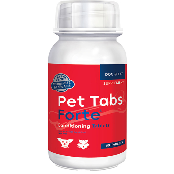 Buy Pet Tabs Forte Vitamin and Mineral Supplement for Dogs & Cats in Kenya